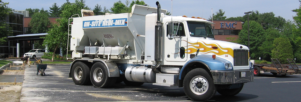 American Ready Mix On-Site Redi-Mix Truck